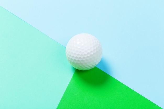 Cima, de, um, bola golfe