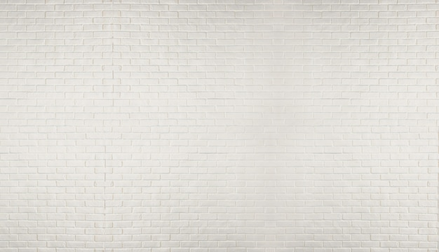 Cima, parede branca tijolo