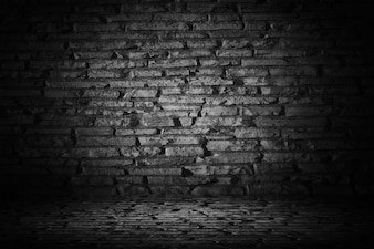 Cimento abstrato preto com borda vinheta preta backgroun