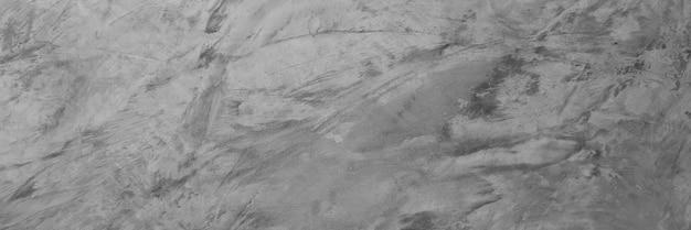 Cimento cinza horizontal e fundo de textura de concreto