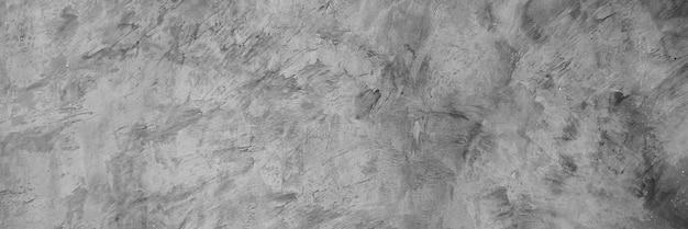 Cimento cinza horizontal e textura de concreto