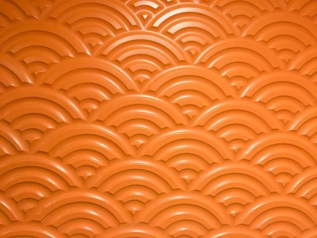Cimento com piso de padrão de círculo para segundo plano.