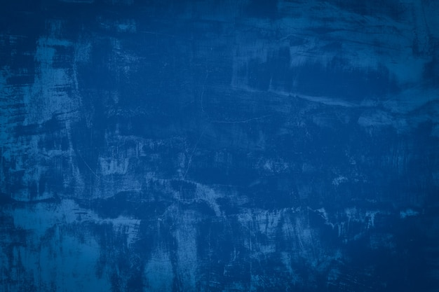Cimento e fundo azuis abstratos. textura de concreto grunge escuro.
