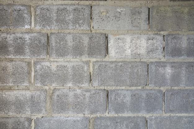 Cinder block wall background padrão, textura de tijolos