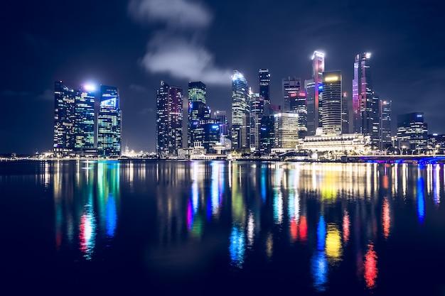 Cingapura à noite