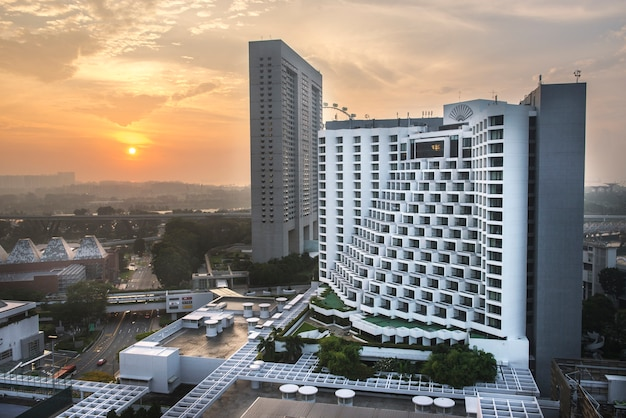 Cingapura - março 26,2017: o hotel do mandarino, singapura.