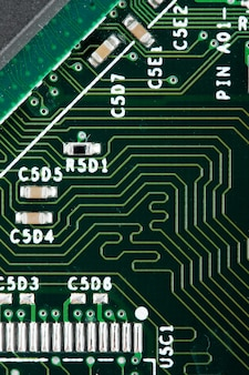 Circuito eletrônico do computador. use para fundo ou textura