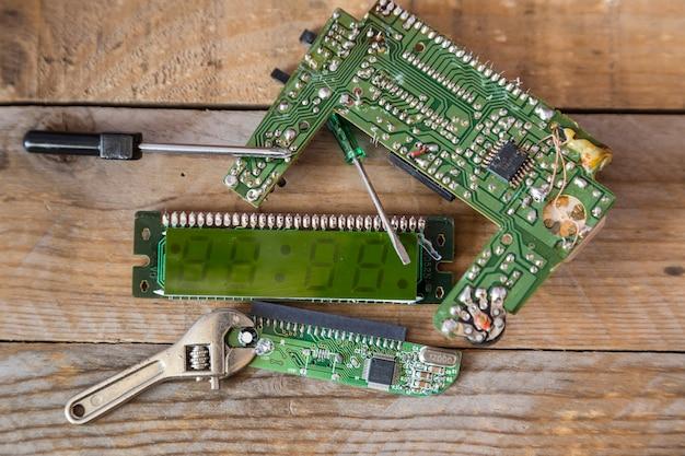 Circuito integrado de um computador