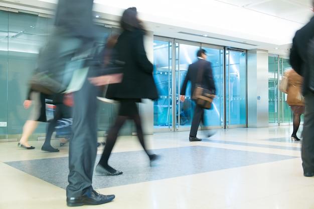 Circulação de empresários na cidade