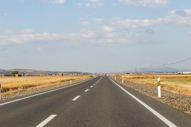 Circulando ao longo da estrada