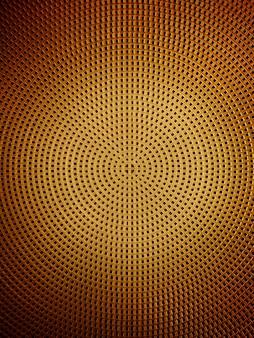 Círculo abstrato e o sinal de adição, fundo de superfície de esteira de plástico
