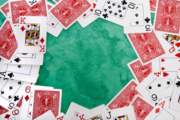 Círculo de cartões
