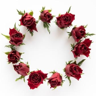 Círculo de rosas