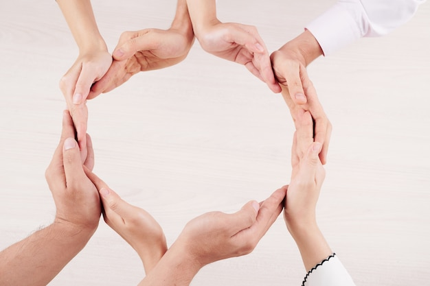Círculo de unidade de família
