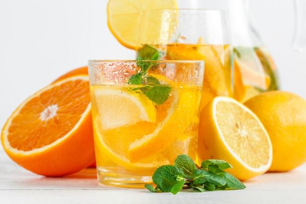 Citron limonada, bebida de verão.