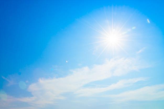Clarão do sol