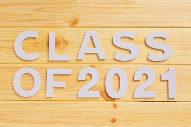 Classe de 2021 parabéns graduado