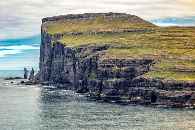 Cliff view em faroe
