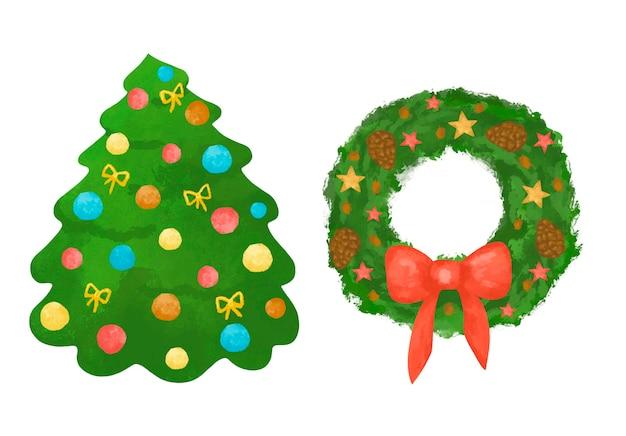 Clipart de decoração de natal
