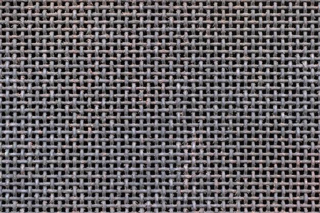 Close abstrato de fundo metálico