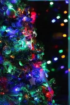 Close da árvore de natal