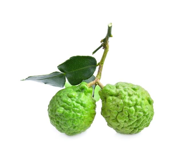 Close da fruta bergamota