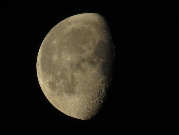 Close da lua cheia