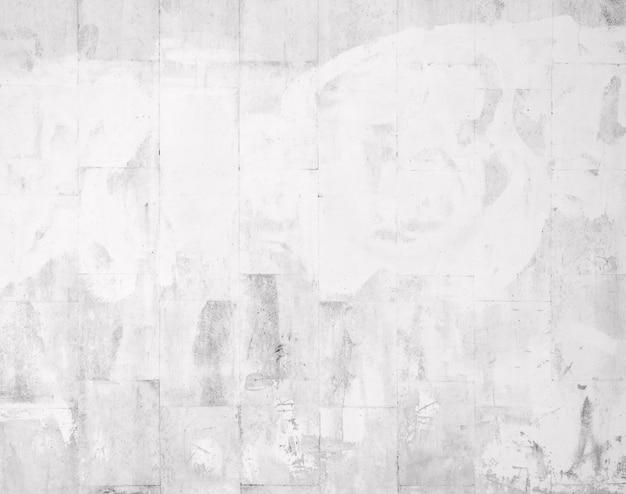 Close da parede pintada de azulejos brancos