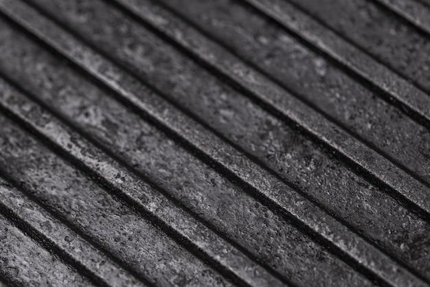 Close da superfície de metal