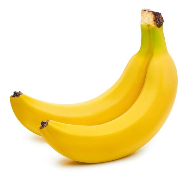 Close de bananas frescas maduras