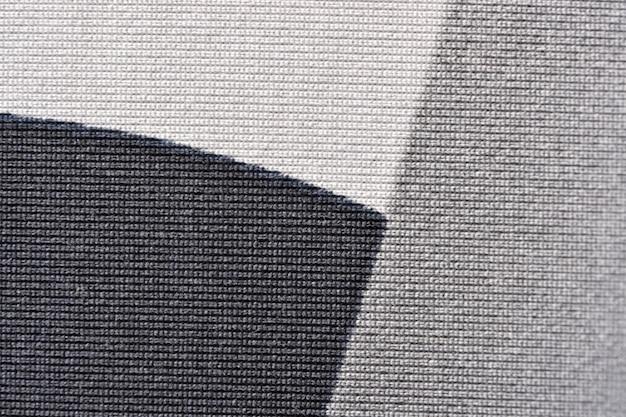 Close de tecido de malha de lã de máquina