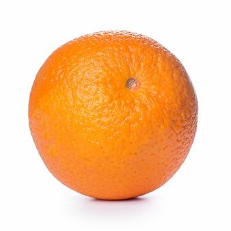 Close de uma laranja