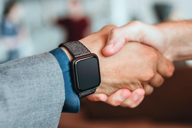 Close do smartwatch