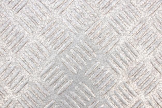 Close-up abstrato do fundo metálico da vista superior