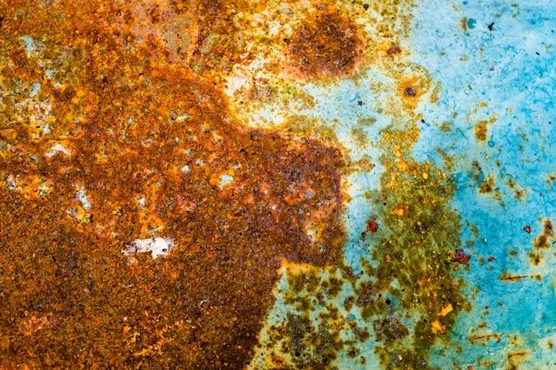 Close-up aço enferrujado velho fundo de folha de metal