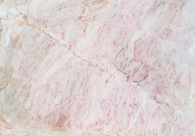 Close-up belo padrão de design de pedra e pedra de mármore rosa abstrato para plano de fundo