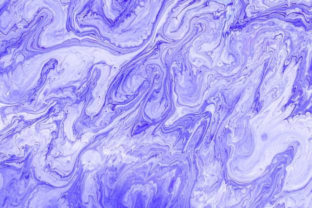 Close up colorido misturado da pintura acrílica