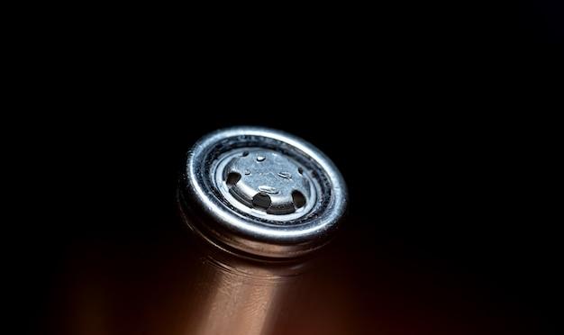 Close-up da bateria 18650