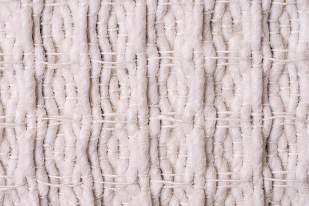 Close-up da costura do tecido