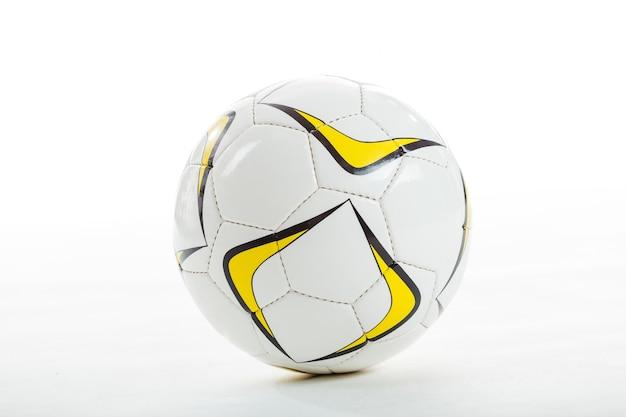 Close-up da esfera de futebol