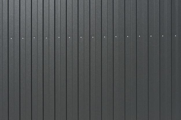 Close up da textura da chapa de metal cinza escuro