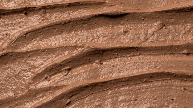 Close up da textura do pote de barro