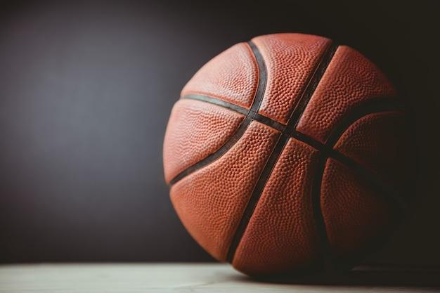 Close-up de basquete