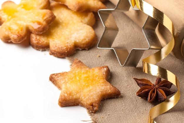 Close-up de biscoitos cugar