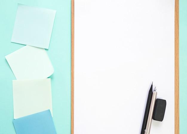 Close-up, de, escritório, stationeries