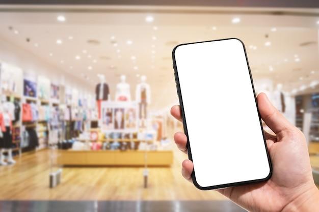 Close-up, de, femininas, uso, smartphone