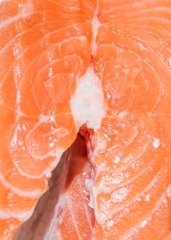 Close-up, de, freshly, corte, peixe