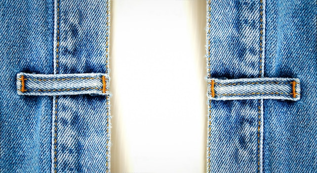 Close up de jeans
