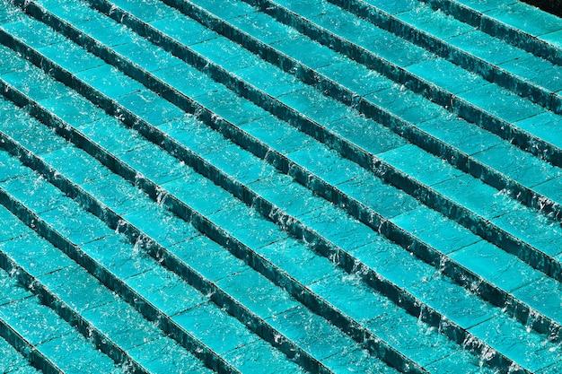 Close up de linhas azuis perfeitas para usar como plano de fundo