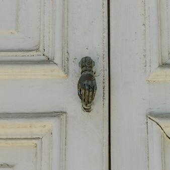 Close-up, de, maçaneta porta, valparaiso, chile